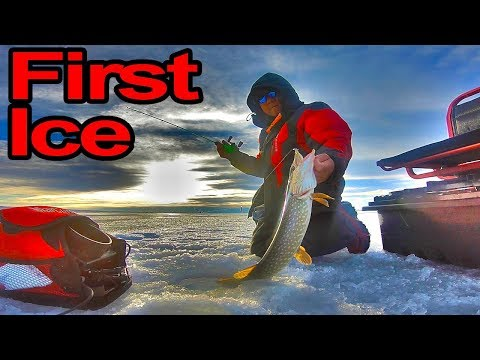 First Ice And First Light -Safety First Ice Fishing At The McGregor-