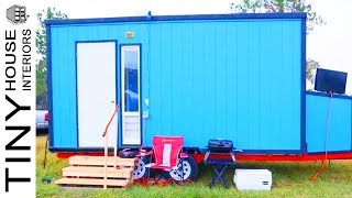 Stunning Diy Tiny House On A Boat Trailer | Tiny House Interiors