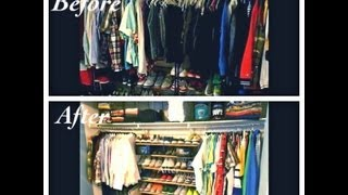Do It Yourself Shoe Wall... Closet Or Bedroom Part 2