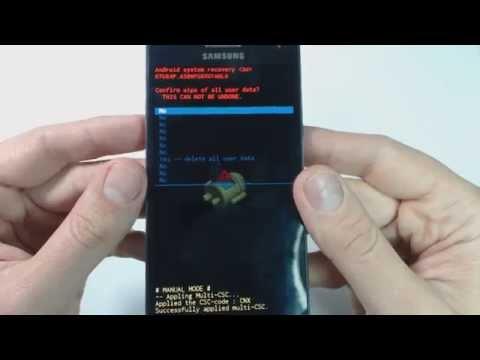 Samsung Galaxy A5 A500FU hard reset