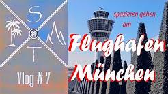 spazieren am Flughafen München /aktuelle Lage 23.04. Corona Lockdown /Vlog #7