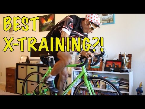 CYCLING AS CROSS TRAINING FOR RUNNERS?! | Sage Canaday on a bike