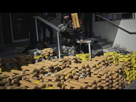 5 Tons of Drugs and 30 Guns Sized in Brazil Police Operation | The Rio Times