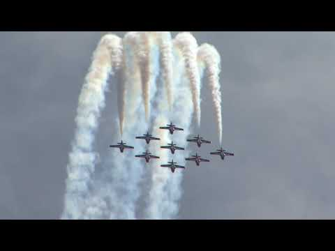 Air show in Toronto 2017