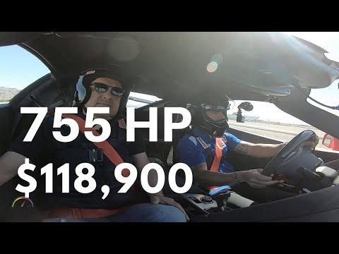 2019 Corvette ZR1 Hot Lap with Tony Kanaan at Las Vegas Motorspeedway