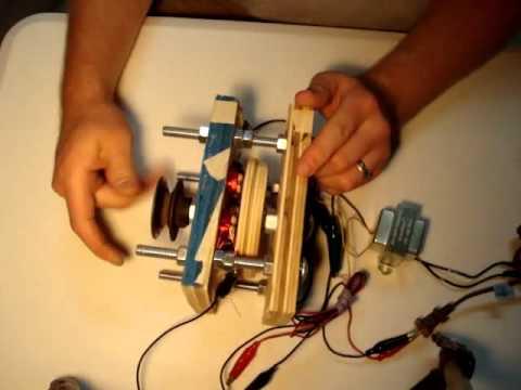 Small permanent magnet alternator youtube small permanent magnet alternator solutioingenieria Images