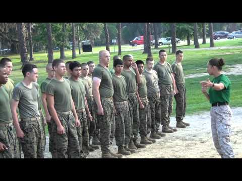 Carvers Bay High School MCJROTC Goes To Parris Island Marine Depot