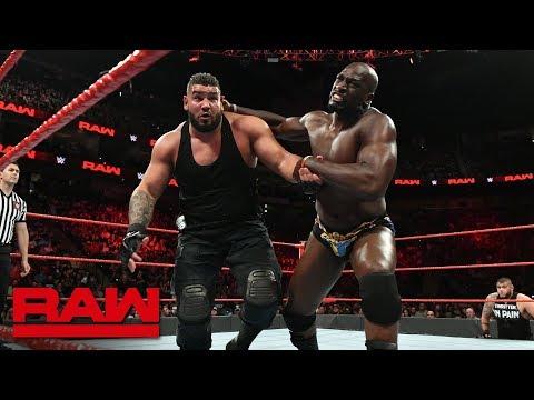 Titus ONeil vs. Rezar: Raw, Aug. 6, 2018