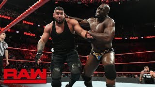 Titus O'Neil vs. Rezar: Raw, Aug. 6, 2018