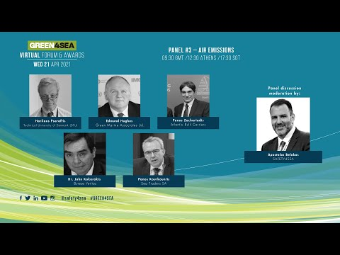 2021 GREEN4SEA Virtual Forum Panel 3: Air Emissions