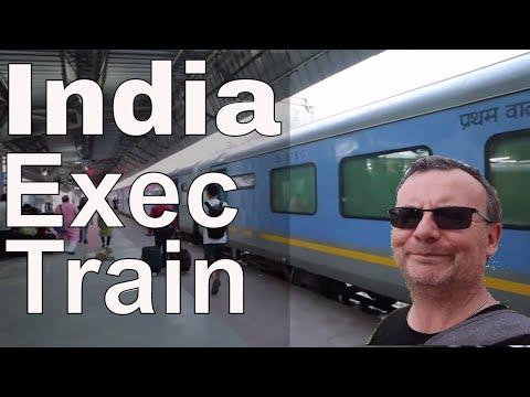 Exec Chair Train India Agra Cantt - Delhi Arriving Hazrat Nizamuddin Railway Station Executive Class