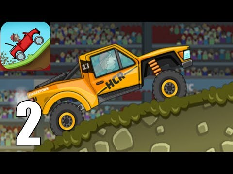Hill Climb Racing ( Androi / IOS ) Gameplay #2 - TROPHY TRUCK
