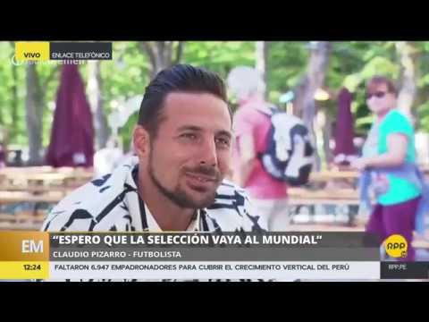 Exclusivo: acalorado cruce de palabras entre Claudio Pizarro y Daniel Peredo│RPP