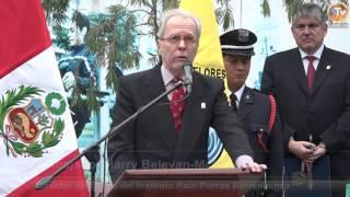 Tema: Ceremonia por el Quincuagésimo Sexto Aniversario del Deceso de Raúl Porras Barrenechea