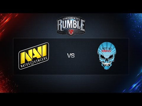 World of Tanks - NaVi vs. NSS - Continental Rumble - 3rd Place Decider