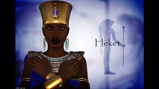 Black Egyptian Gods And Goddesses From Ancient Times