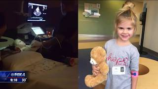 Quinlan 4 year old battling cancer set for bone marrow transplant on Valentine's Day