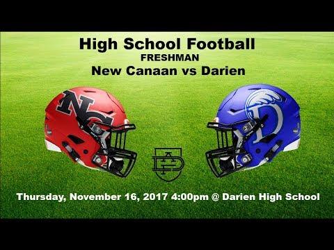 Darien Freshman Football Vs New Canaan Youtube