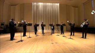 "The Chicago Trombone Consort - Live! - Brahms - ""How Lovely is Thy Dwelling Place?"""