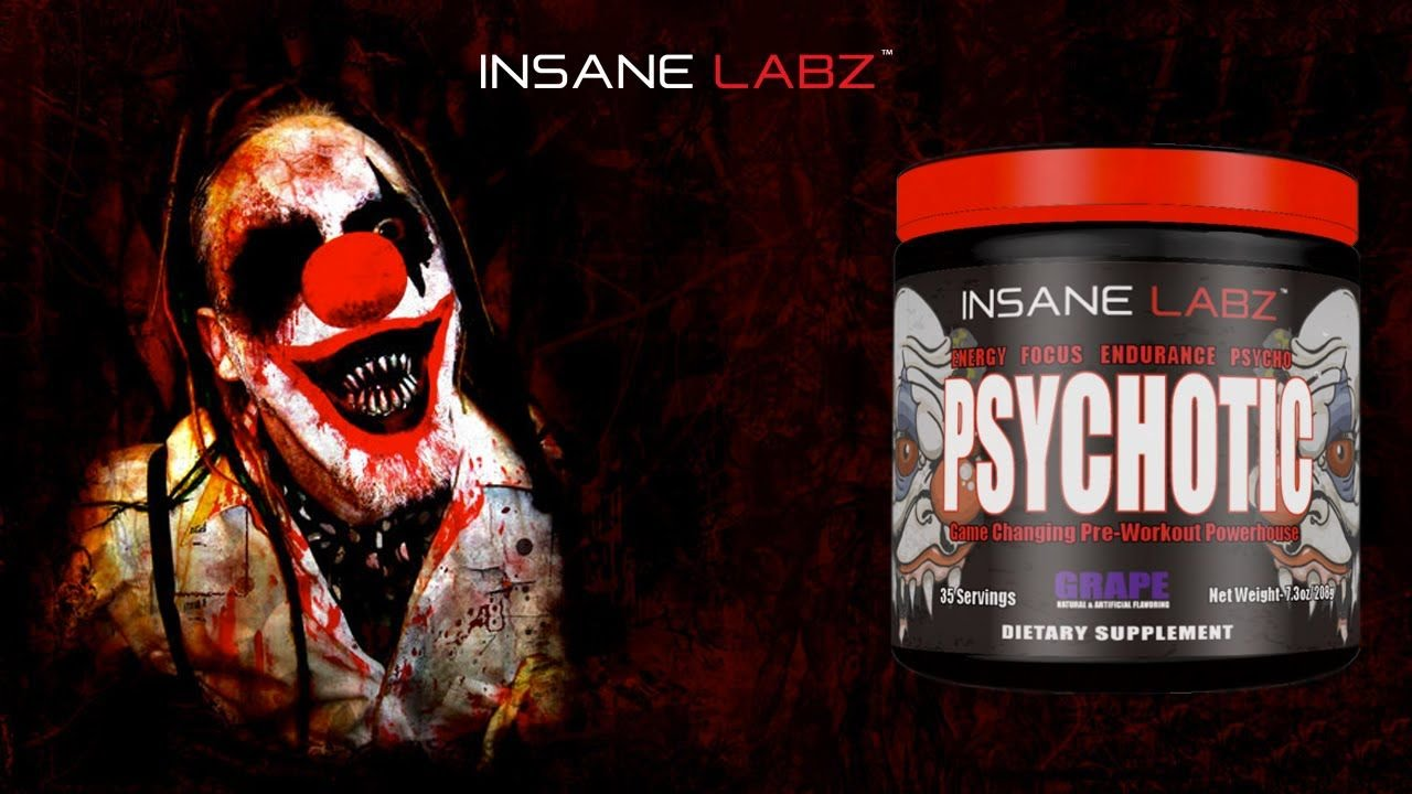 Psychotic de Insane Labz ( Review ) Luis Aguilar Fitness
