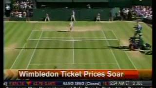 Wimbledon Ticket Prices Soar - Bloomberg