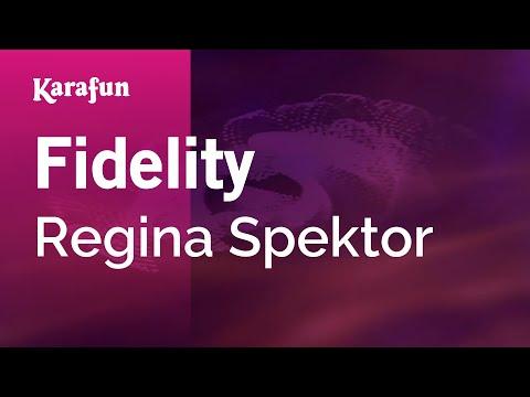 Karaoke Fidelity - Regina Spektor *