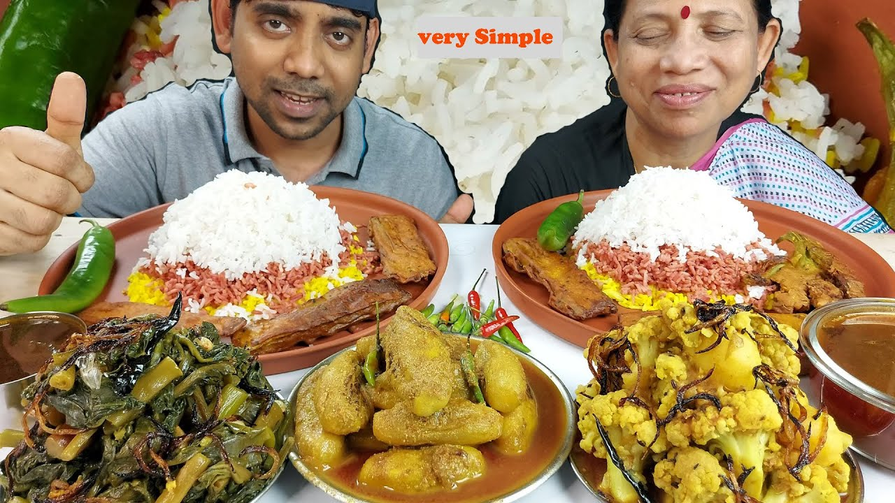 Very Simple but Very Tasty and Healthy Food Mukbang Eating Show