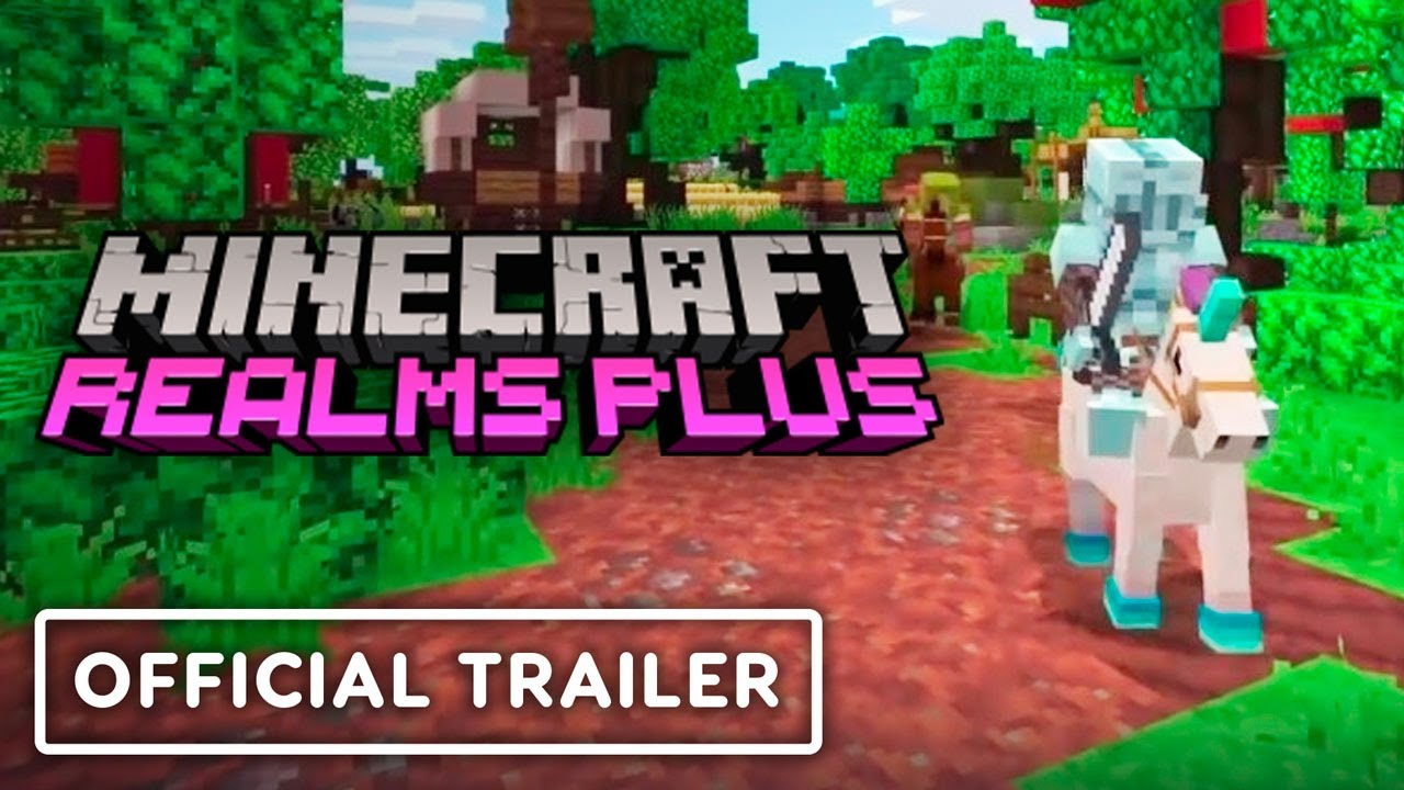 Minecraft - Official Welcome to Realms Plus Trailer