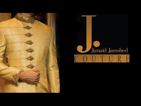 Latest Fashion Embroidered Sherwani For Men By Junaid Jamshed