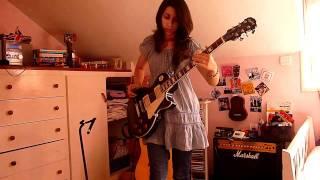 Foals - Cassius (guitar cover)