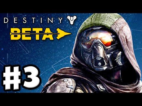 Destiny Beta - Gameplay Walkthrough Part 3 - The Warmind (PS4)
