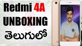 Xiaomi redmi 4A unboxing & initial impressions ll in telugu ll by prasad ll
