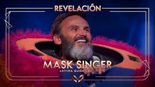 Fernando Tejero, desenmascarado como el Monstruo | Mask Singer: Adivina quién canta