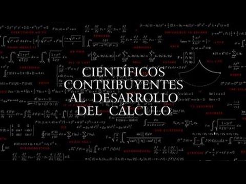 Científicos contribuyentes al desarrollo del cálculo