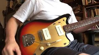 1959 Fender Jazzmaster Gold Guard Refin - For Sale - Through 1963 Vibroverb