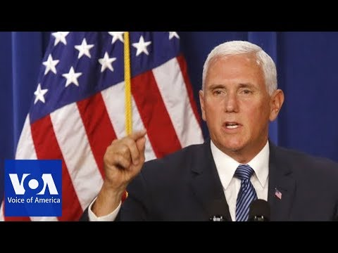 Vice President Mike Pence's China Speech at Hudson Institute