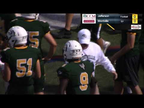 HD Football Broadcast (9/21/2018): Montville over Jefferson 48-16