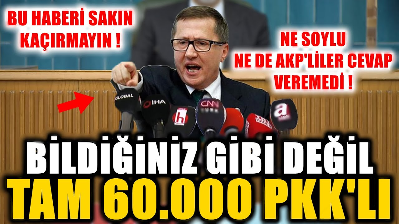 """Şok! Türkkan Akp'lilere """"Pkk'yı Siz Büyüttünüz"""" Dedi Ne Soylu Ne Akp'liler Cevap Veremedi!"""