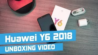 Huawei Y6 2018 Unboxing - The best cheap smartphone 2018?