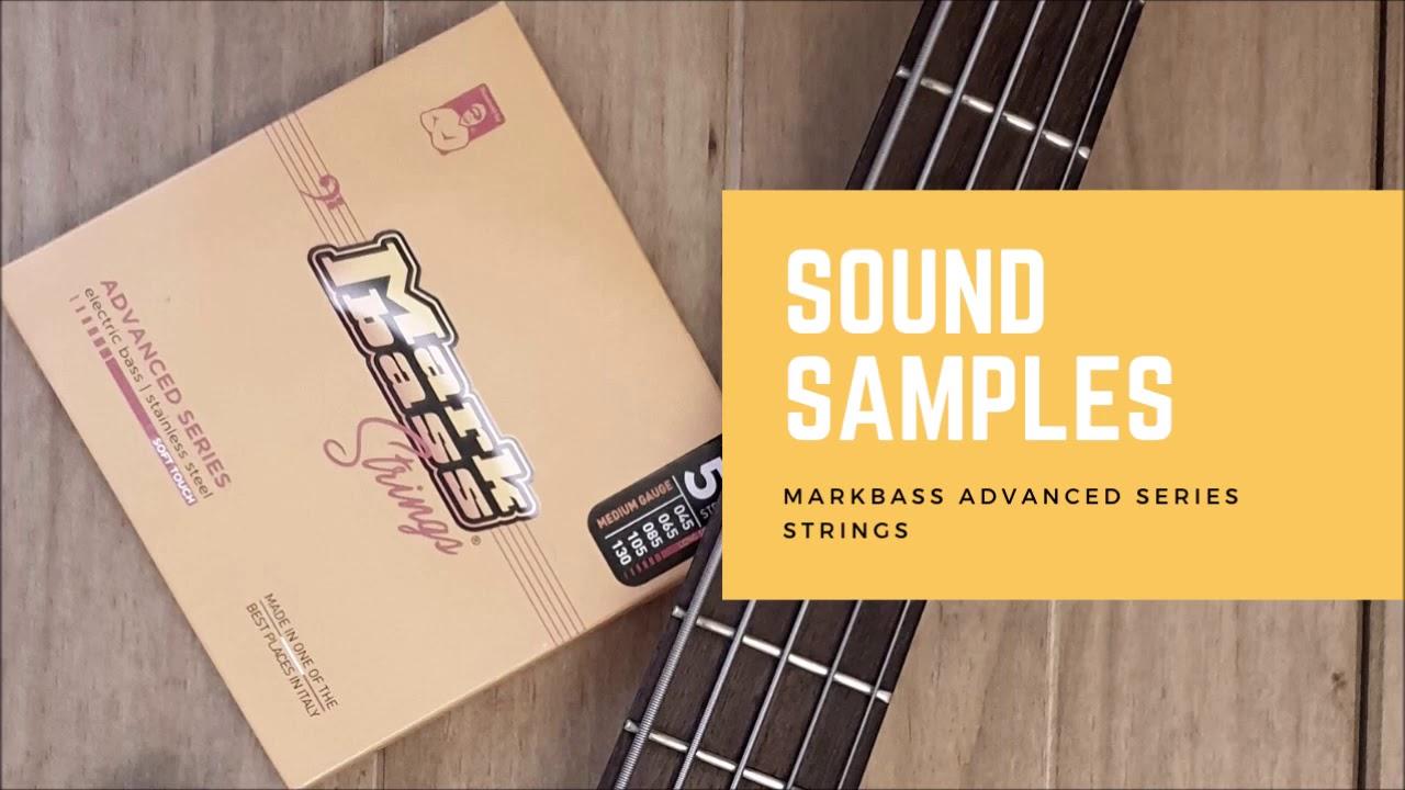 Markbass Advanced Series - první dojmy z nových strun