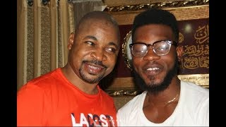 MC Oluomo Brought Out Comedian Broda Shaggi To Greet Guests As He Stormed Out In His New SUV Car