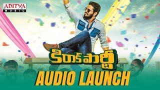 Kirrak Party Audio Launch Full Event | Kirrak Party Songs | Nikhil Siddharth | Samyuktha | Simran