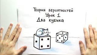 Теория вероятностей 1: два кубика