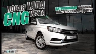 видео Lada Vesta CNG. Запах метана — Блог Артема Краснова