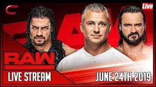 WWE RAW Live Stream June 24th 2019 Live Reaction Conman167
