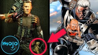 Top 10 Deadpool 2 Easter Eggs