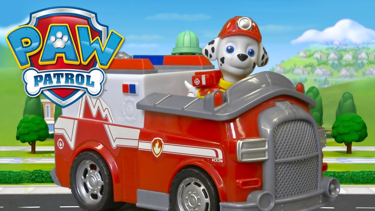 PAW Patrol Rescue Marshall From Spin Master