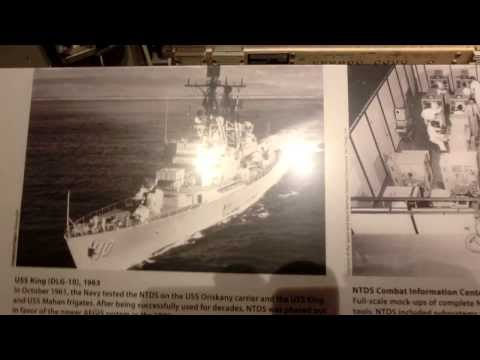 NTDS - Naval Tactical Data System the pre AEGIS USS Ships brain