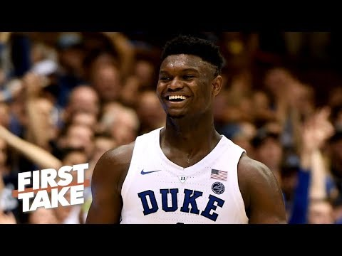 Could Zion Williamson truly be a top-50 NBA player right now? | First Take thumbnail