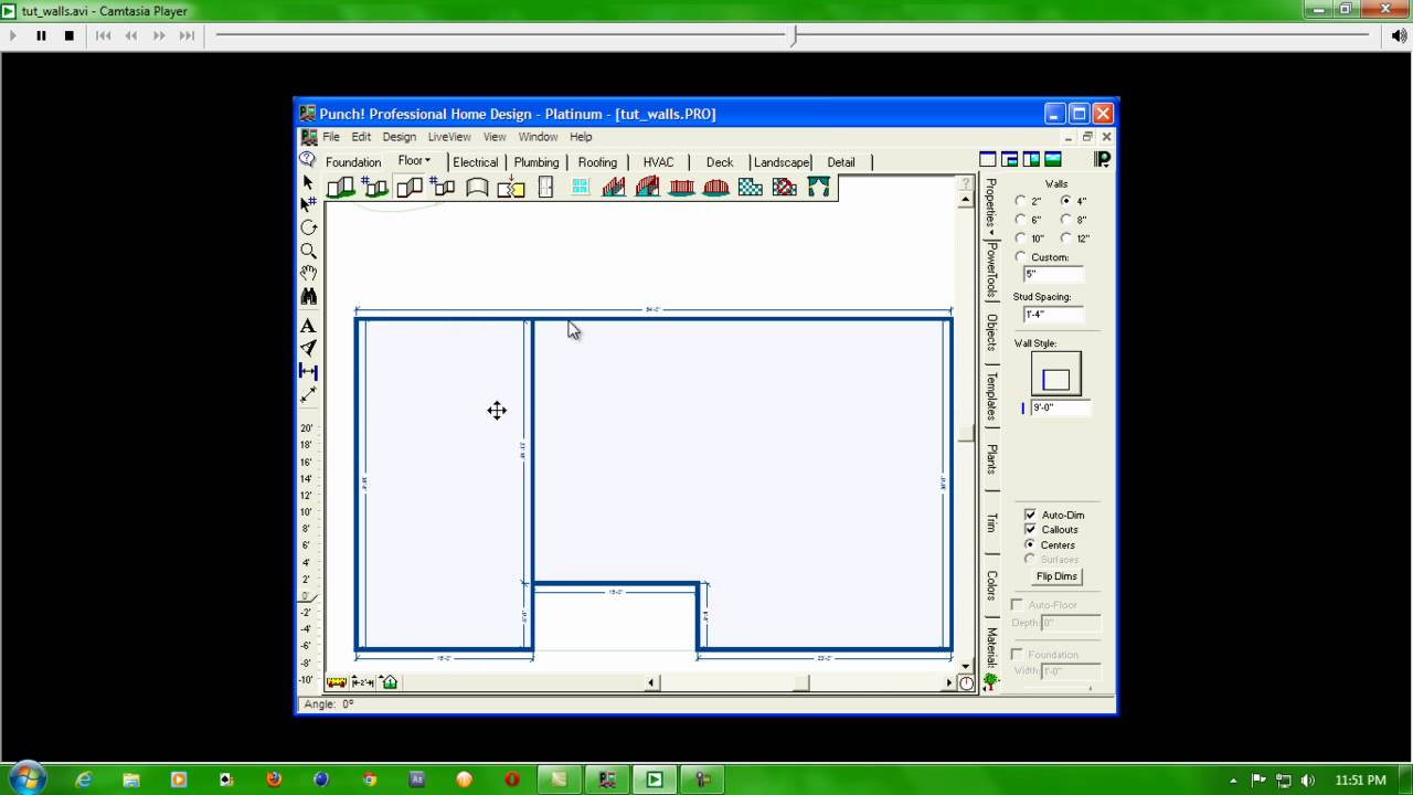 Punch Wall 2d And 3d Wall Design Software   YouTube Part 81